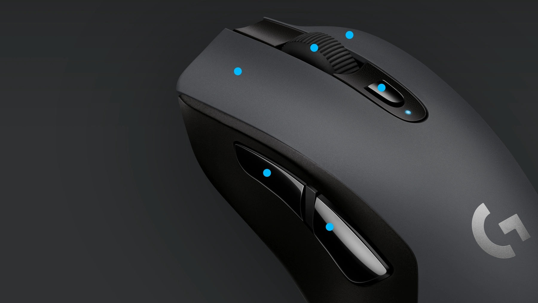 SIX PROGRAMMABLE BUTTONS - The G603 wireless gaming mouse can be fully configured to match your preferences. G603 comes with 6 programmable buttons including on-the-fly DPI shifting through up to 5 sensitivity settings. Use G HUB to assign custom commands, configure macros (sequences of clicks and keystrokes to simplify in-game actions and quickly execute complex tasks), store configuration profiles in the onboard memory, and more.