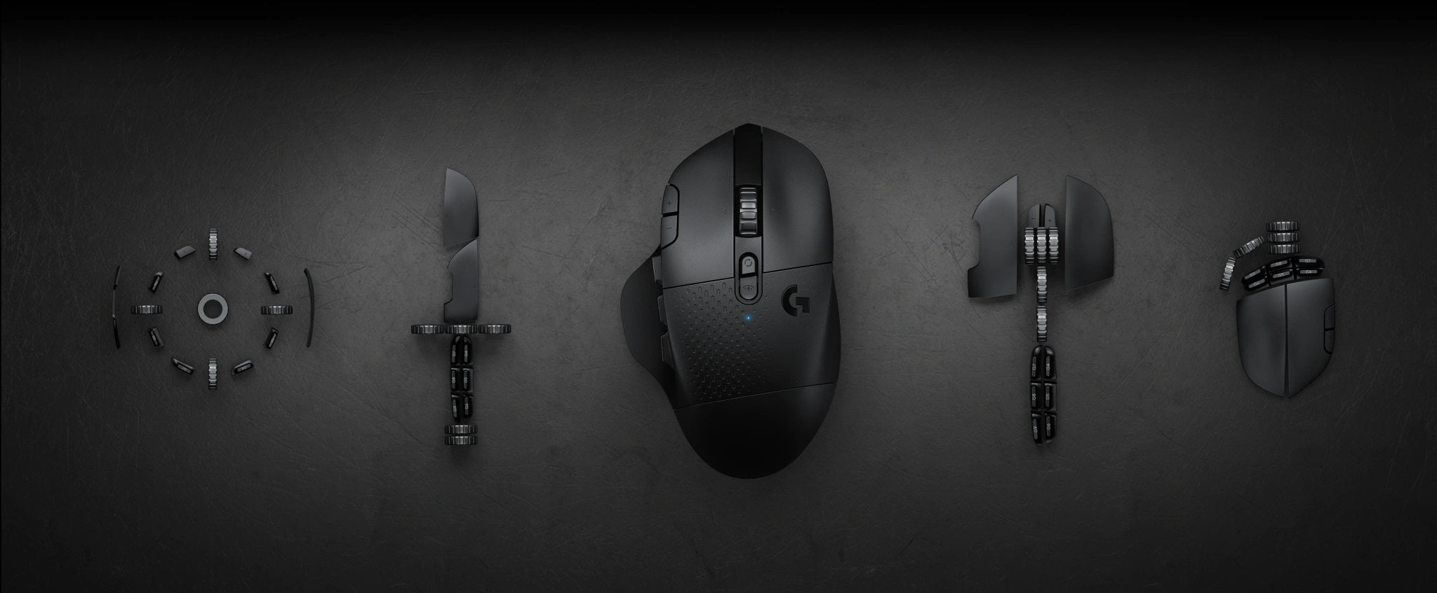 MAKE YOUR PLAY - Your power, your control. Conquer MOBA, MMO, and Battle Royale gameplay with the strategically designed G604 LIGHTSPEED Wireless Gaming Mouse. 15 programmable controls join forces with ultra-fast LIGHTSPEED dual connectivity and the class-leading HERO 25K sensor. It's a multifaceted battle weapon that lets you play longer, play better, and make your play.