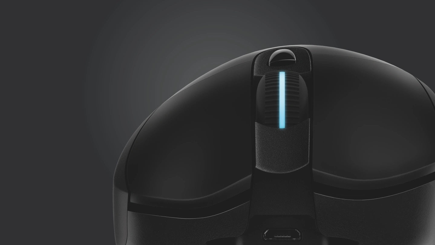 MECHANICAL BUTTON TENSIONING - Mechanical button tensioning uses metal springs to help keep the left and right mouse buttons primed to click, reducing the force needed. Combined with individual left and right buttons, it enhances the consistency and delivers exceptional click feel and response.