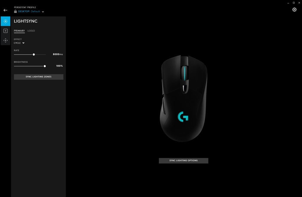 LIGHTSYNC technology provides next-gen RGB lighting that synchronizes lighting and game profiles with your content. Customize from a full spectrum of approximately 16.8 million colors and synchronize lighting animations and effects with your other Logitech G devices. Customize it all quickly and easily using Logitech G HUB.