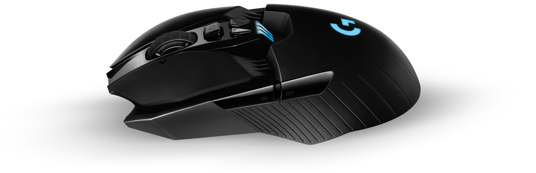 Logitech G903 LightSpeed Wireless Gaming Mouse Side View