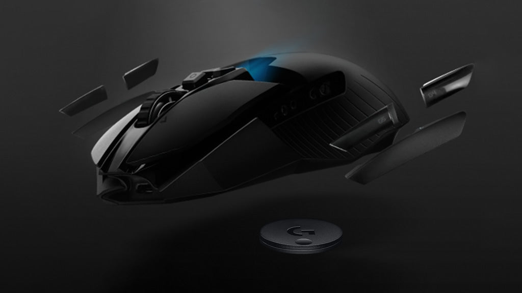 AMBIDEXTROUS Fully-configurable button layout and ambidextrous design allow for left- or right-handed use that works with nearly any mouse grip style, including palm, claw and fingertip grips. And for those who want a little extra weight, G903 comes with an optional 10 g weight.