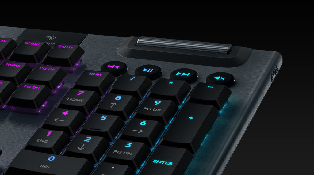 ERGONOMICALLY DESIGNED - An unprecedented thin design and new low-profile GL mechanical switches deliver a new level of comfort. The ergonomically designed, ultra-low keyboard allows for a more comfortable and natural position.