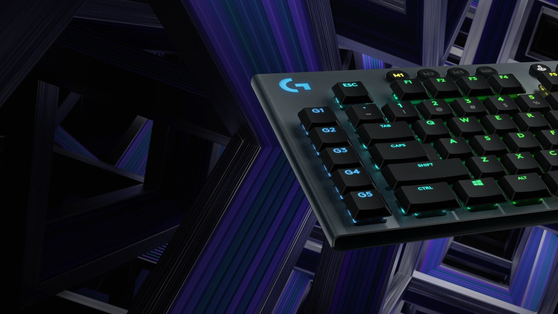 ENDLESS CONTROL - Sleek and sophisticated G915 offers a focused, high-performance experience with every feature you need to take total control—like programmable G-keys and onboard profiles. Make G915 the command center for your PC.