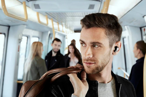 Jabra Elite 65t True Wireless Headset - HearThrough Function gives you safety on the move