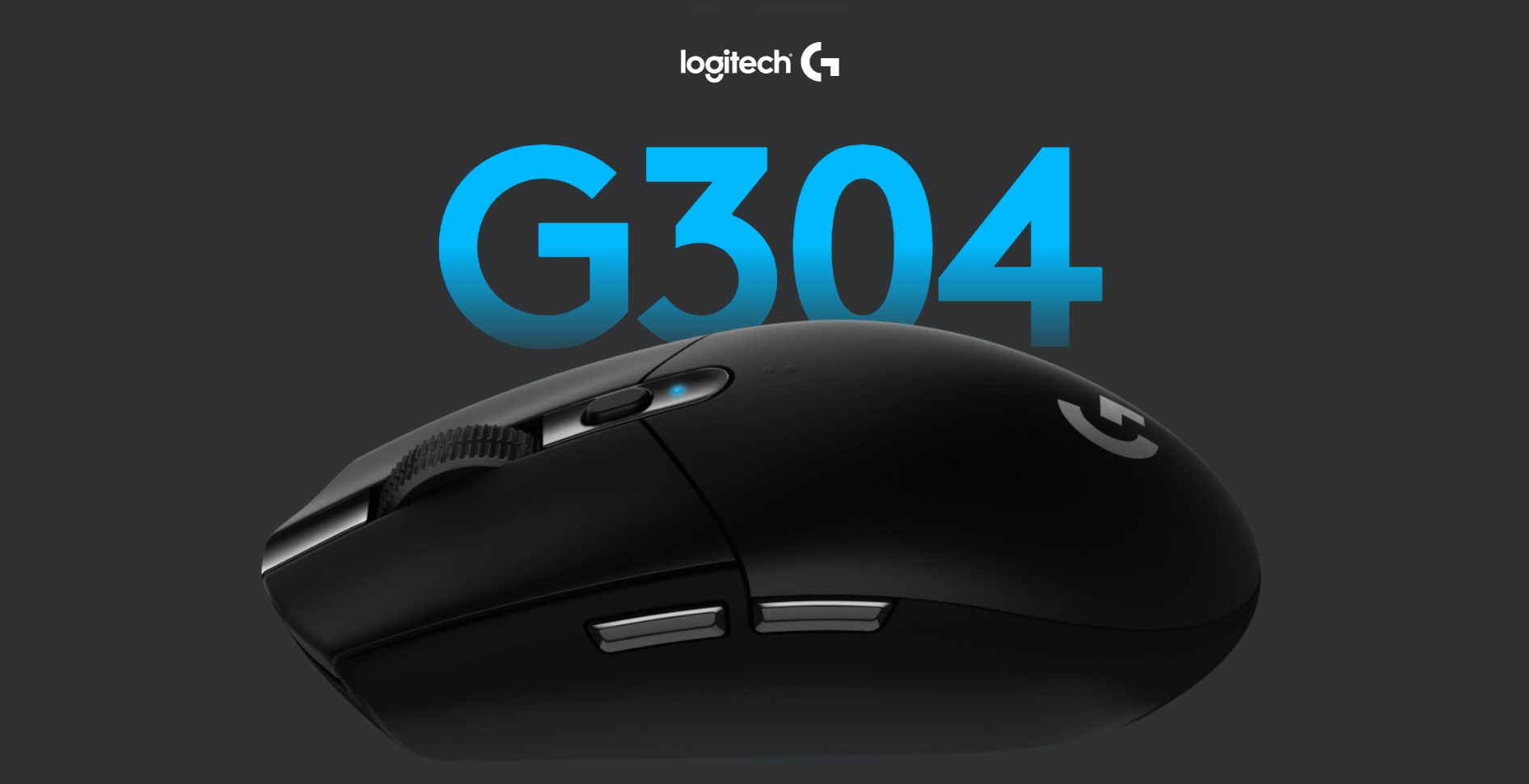 Logitech G304 Lightspeed Wireless Gaming Mouse at an affordable price for serious gamers on a budget.