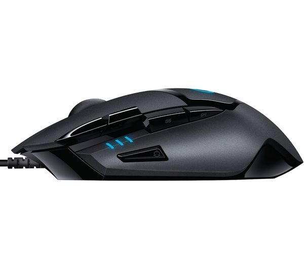 Logitech G402 Hyperion Fury FPS Gaming Mouse With 4 on-the-fly DPI switching setups, you have the flexibility to react to the chaos of battle with precision.