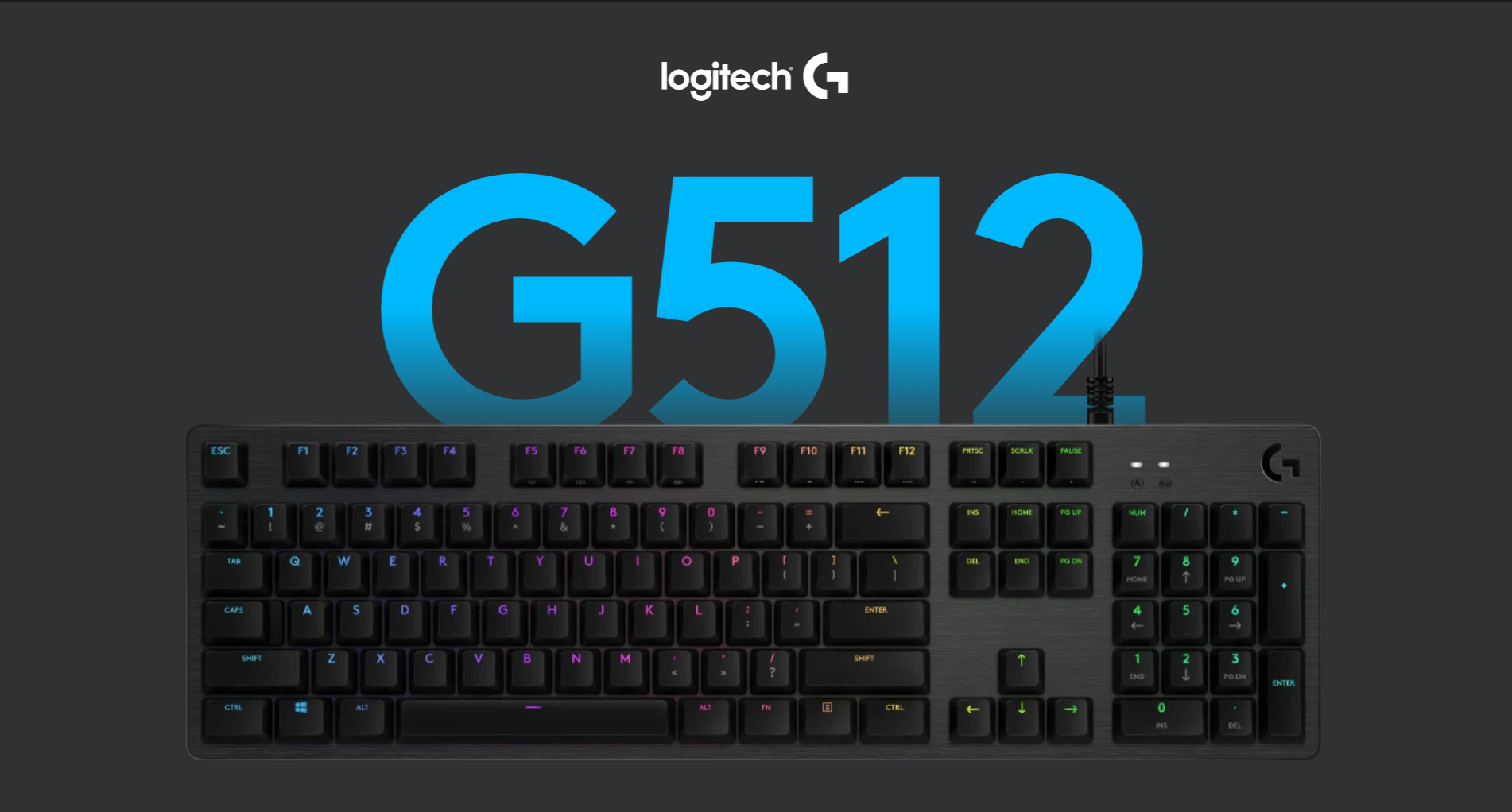 Logitech G512 Lightsync RGB Mechanical Gaming Keyboard