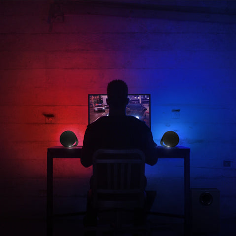 LIGHTSYNC RGB immerses you into the environment with lighting that automatically reacts to your content. Light and color can sync with what's on your screen, respond in rhythm to audio, or deliver special lighting effects programmed by developers. Set a mood and enhance the experience with ~16.8M customizable colors.