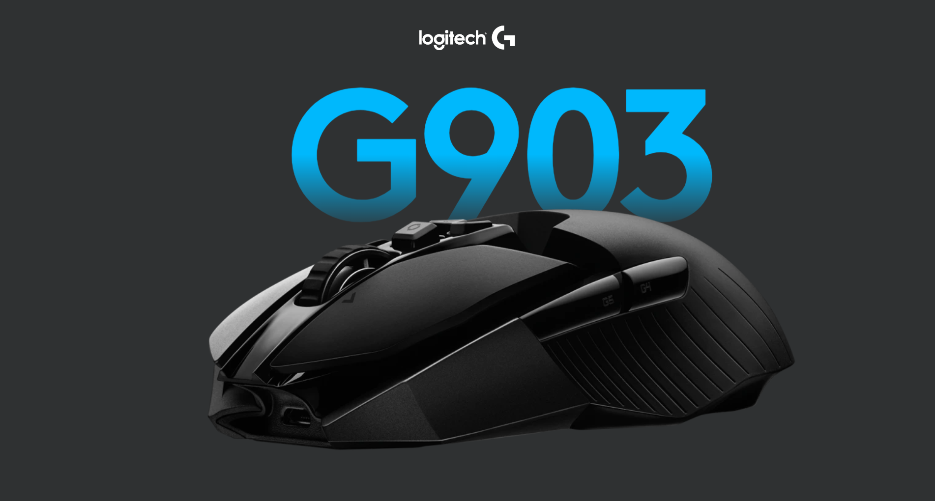 Logitech G903 Lightspeed Wireless Gaming Mouse Banner