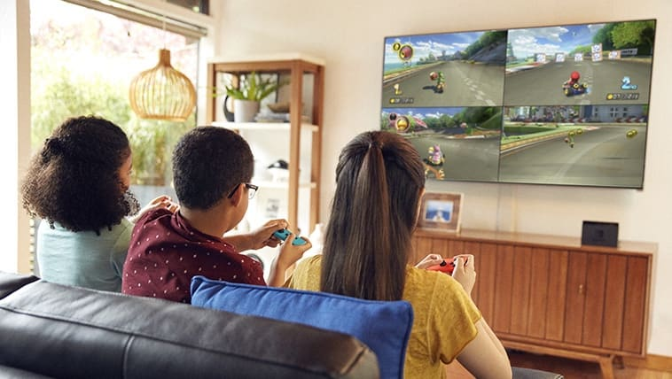 TV mode - Dock your Nintendo Switch to enjoy HD gaming on your TV.