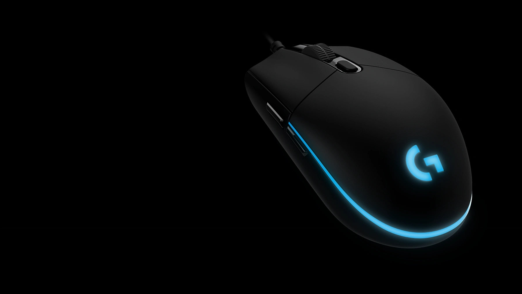 LIGHTSYNC RGB - PRO Mouse comes complete with ~16.8M color customization perfect for representing your team colors, personalizing your setup, or synchronizing with other G products. LIGHTSYNC also features game-driven lighting effects that respond to in-game action, audio visualization, screen color sampling and more. Program it all with G HUB.