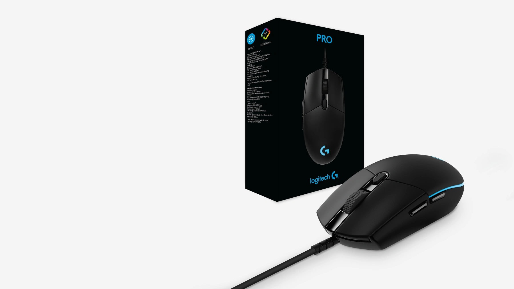 IN THE BOX PRO - gaming mouse & User documentation