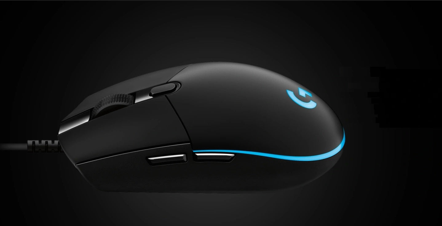 CLASSIC ESPORTS SHAPE - PRO was inspired by the classic lines and simple construction of the Logitech G100 and G100s chassis made famous by top competitive esports professionals. Consistency and comfort are critical to performing at your best. PRO mouse delivers both.