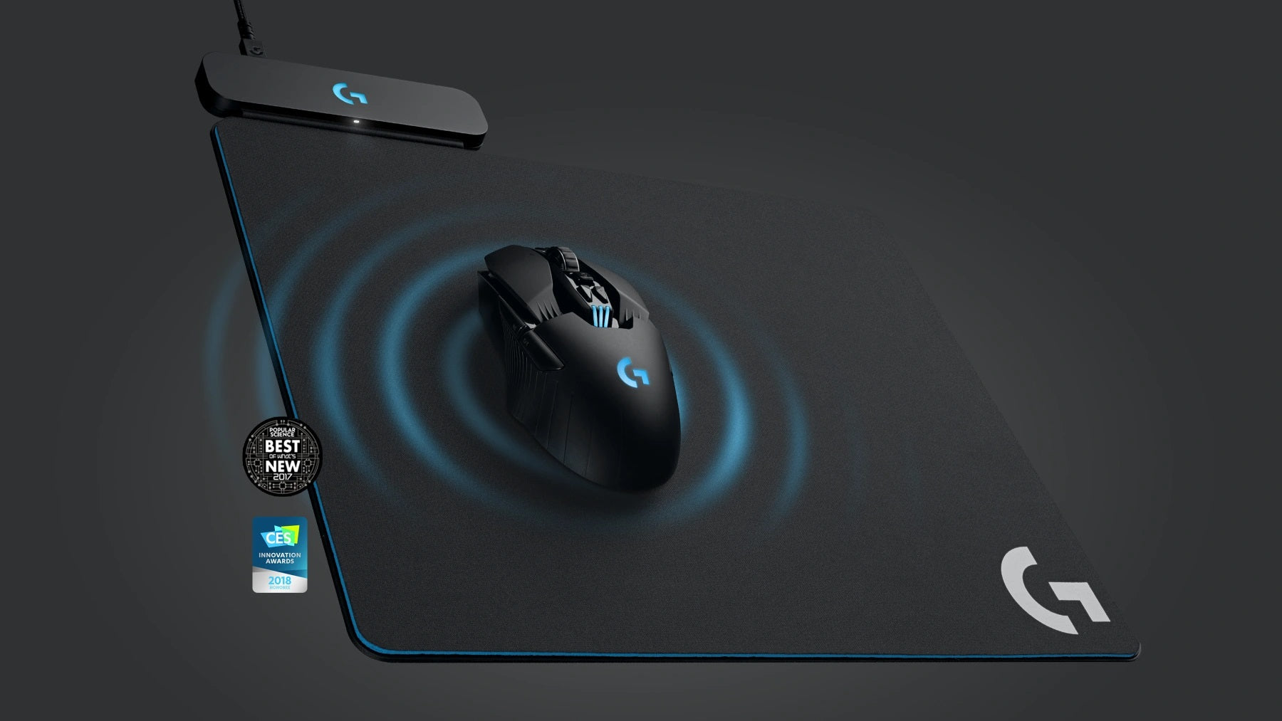 Logitech G PowerPlay Wireless Charging System for Wireless Mouse & Acts as your mousemat.