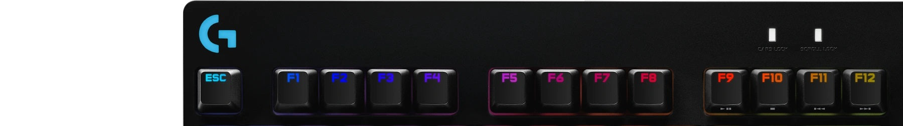12 PROGRAMMABLE F-KEY MACROS - Program intricate, timed actions or commands to F1-F12 with Logitech G HUB.