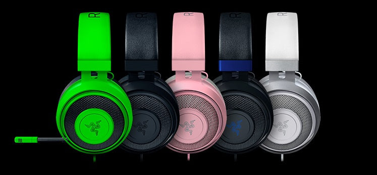 Razer Kraken Multi Platform Gaming Headset Available Colors