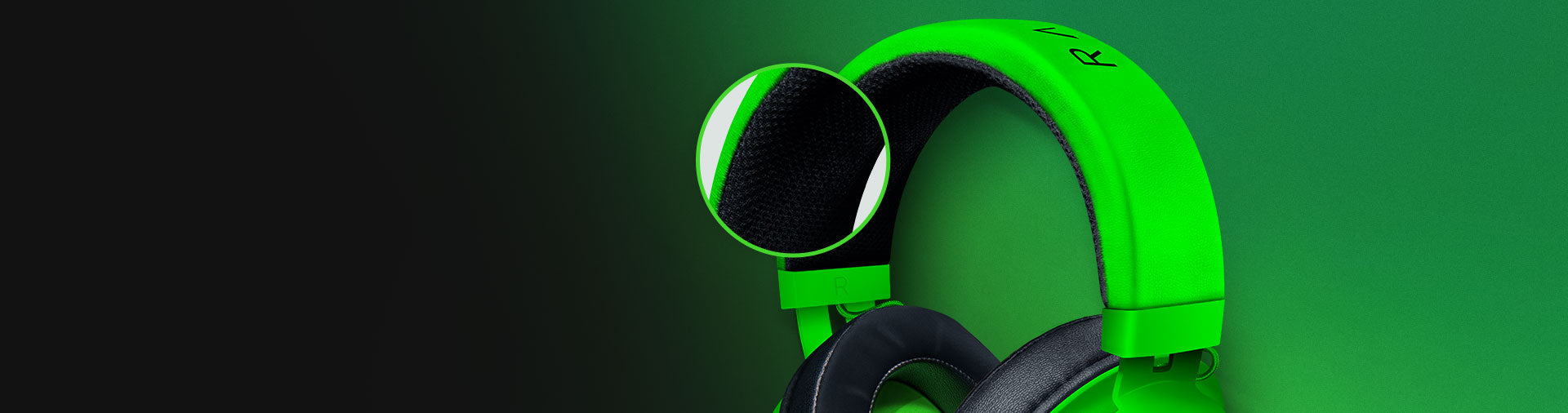 THICKER HEADBAND PADDING - We've improved the headband padding and made it even thicker so it relieves more pressure on your head for long-lasting comfort. The Bauxite aluminum frame of the Razer Kraken makes it lightweight, flexible, and extremely durable.