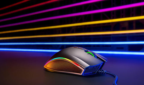 THE MOST RAZER CHROMA™. YOU'LL EVER GET IN A MOUSE Here's one for the fans. The Razer Mamba Elite is the iconic gaming mouse you know and love with the most Razer Chroma in our lineup—an impressive 20 lighting zones. And with features built for performance packed into an ergonomic body, you hold an unsurpassable edge over the competition.