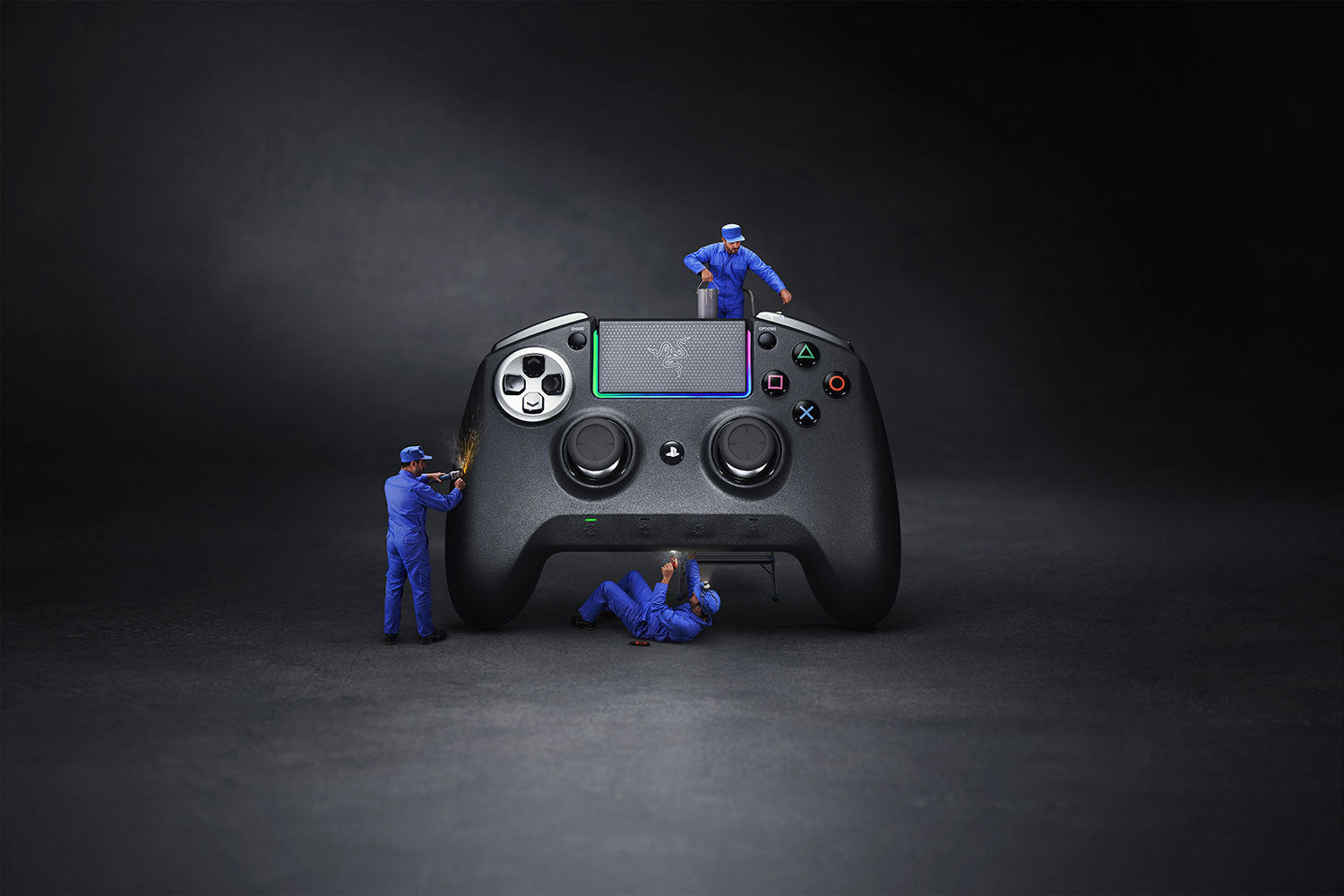 Razer Raiju Ultimate PS4 Wireless Controller with Razer Chroma