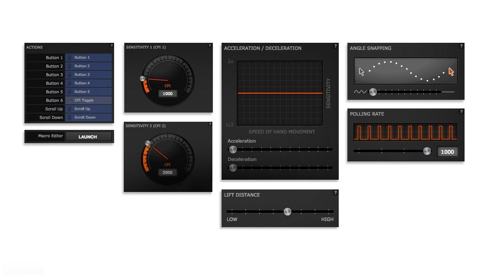 Rev Up the Engine - SteelSeries Engine Software unlocks an impressive arsenal of Engine Apps that make customization of the 8-zone RGB lighting easy and intuitive. The Discord and GameSense Engine Apps allow for chat notifications, in-game events, and more.