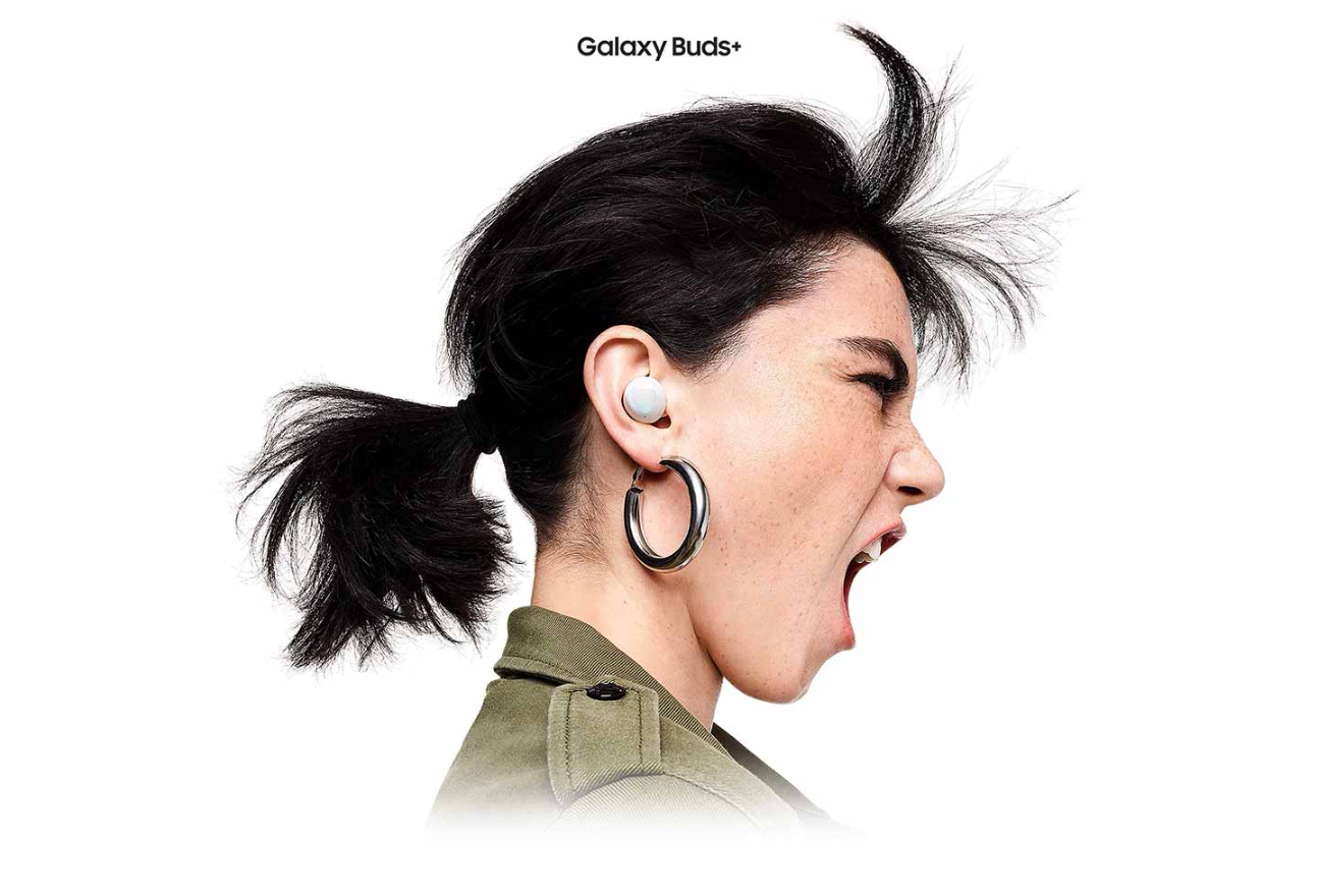Samsung Galaxy Buds Plus changing the way you experience sound.