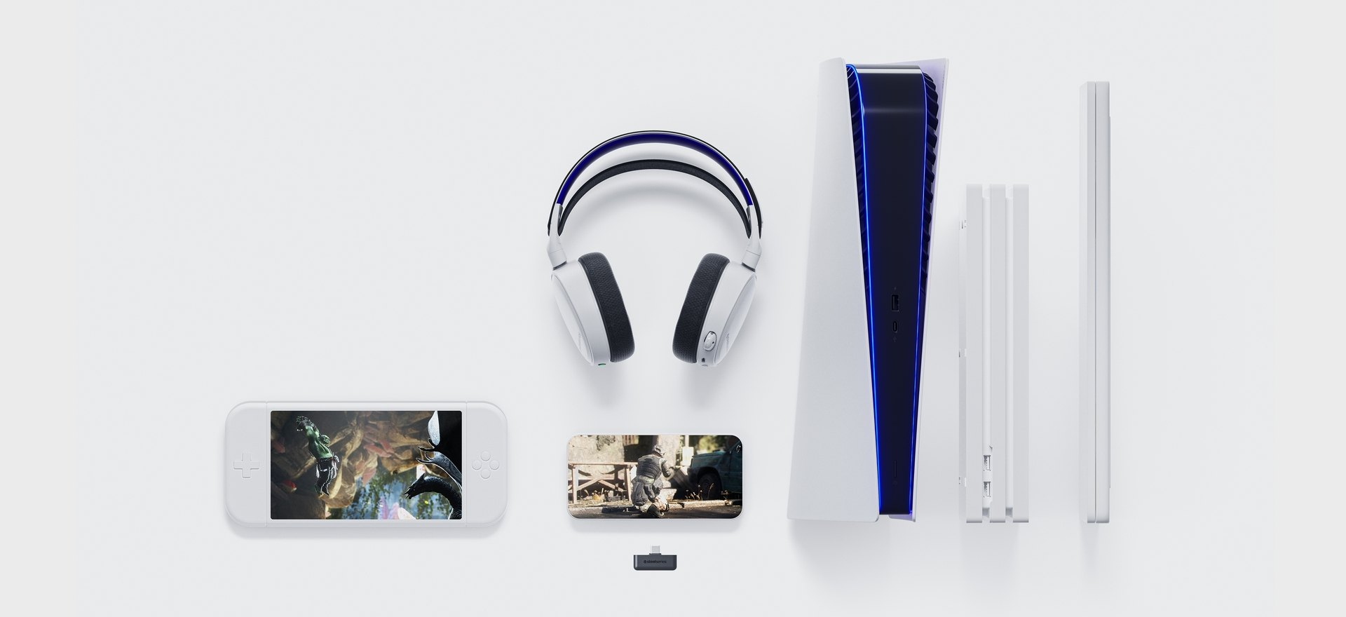 Extreme versatility - Game everywhere with the compact USB-C dongle for a seamless transition between PlayStation 5, PS4, PC, Android, and Nintendo Switch.