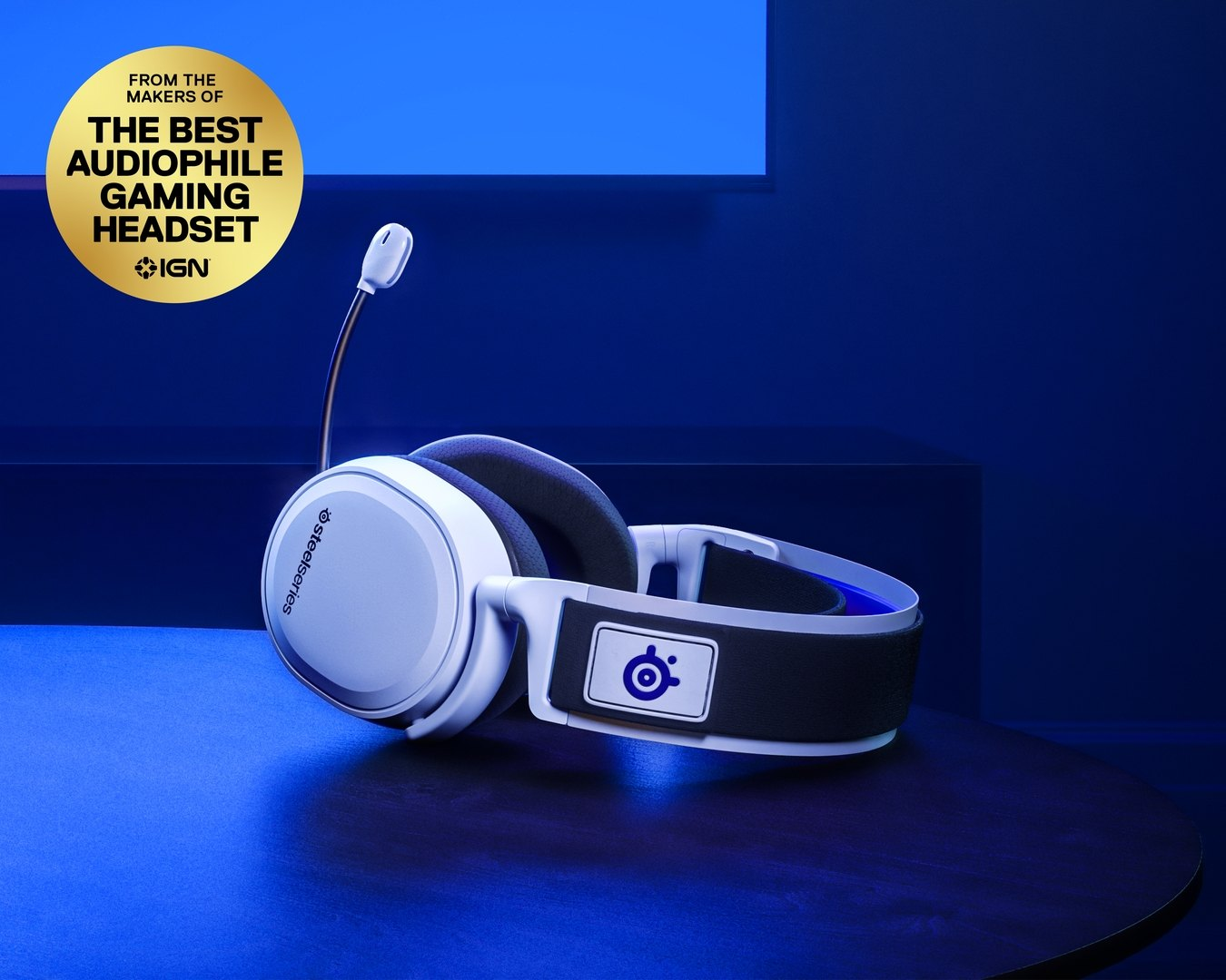 SteelSeries Arctis 7p Wireless - White