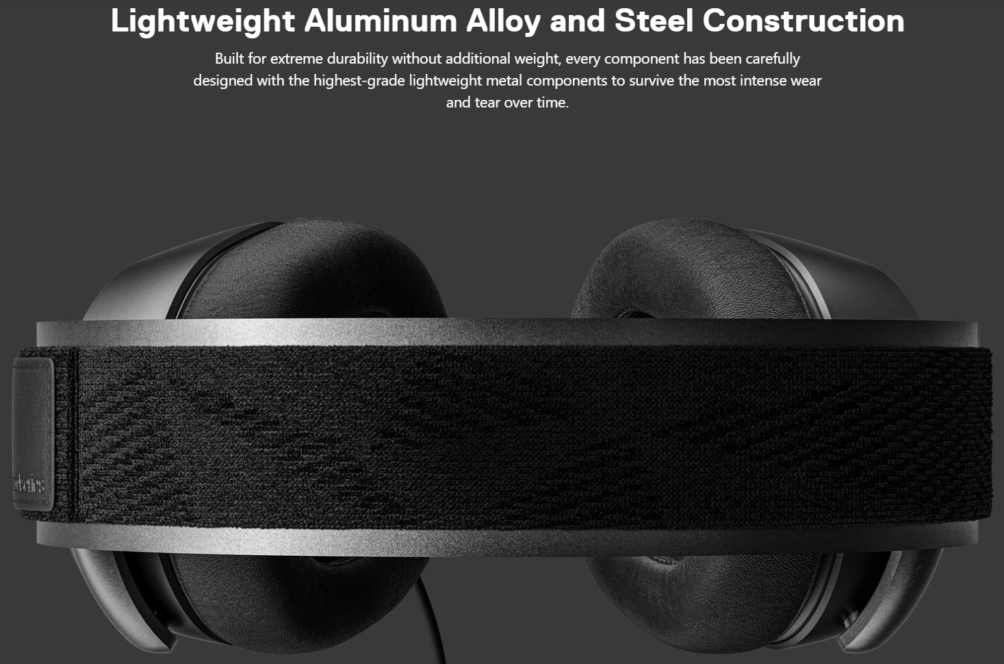 SteelSeries Arctis Prime - Lightweight Aluminum Alloy and Steel Construction