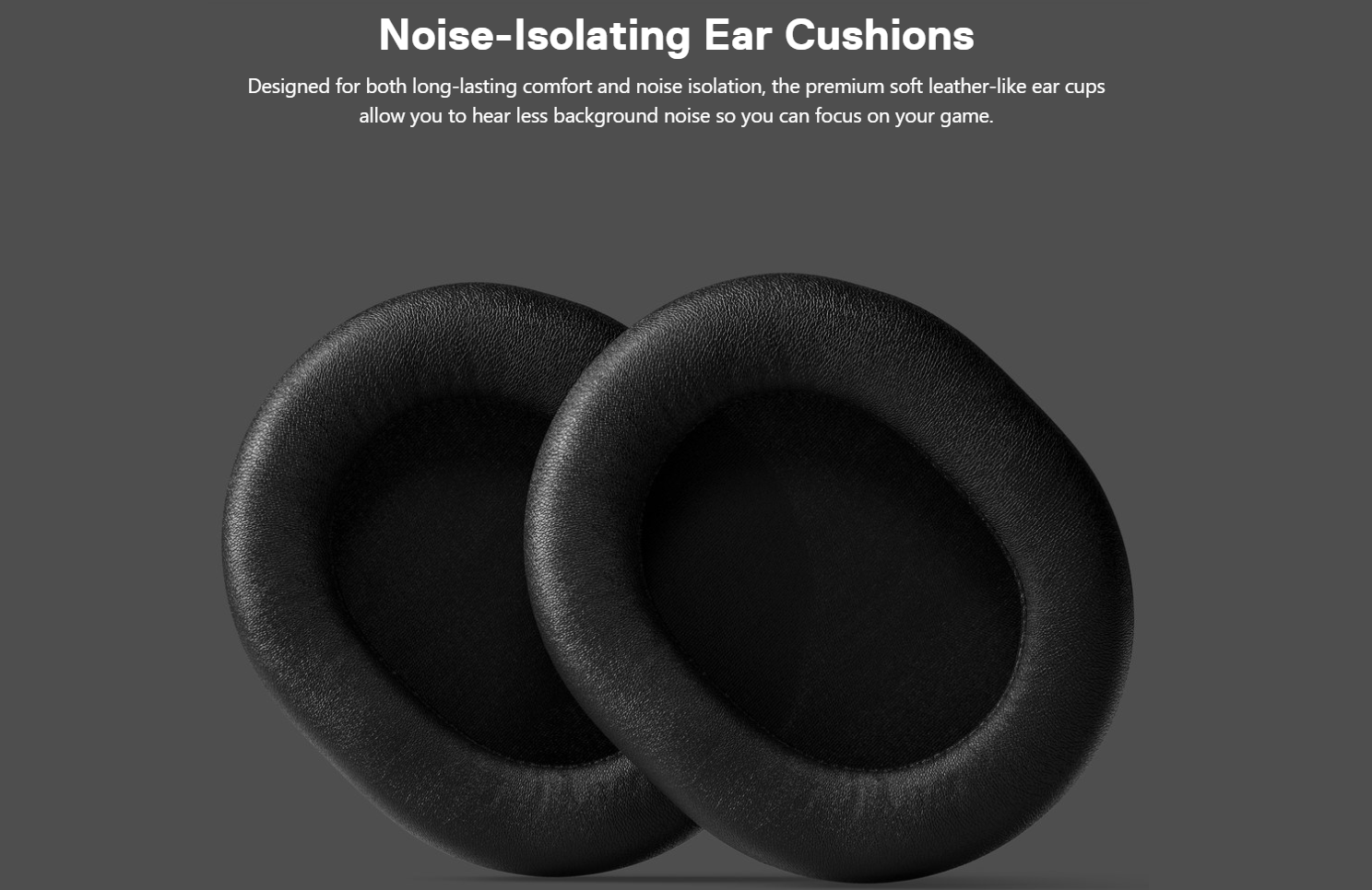 SteelSeries Arctis Prime - Noise-Isolating Ear Cushions