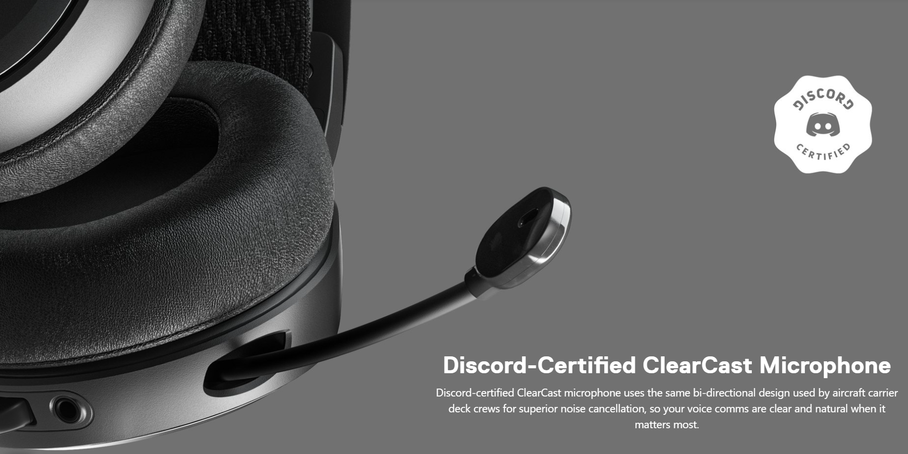 SteelSeries Arctis Prime - Discord-Certified ClearCast Microphone