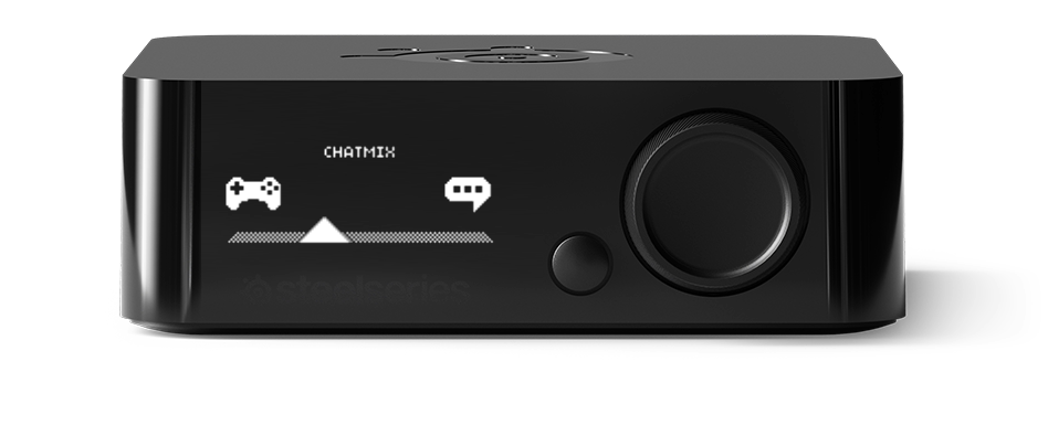 Customization at your fingertips - The Arctis Pro's intuitive OLED menu lets you quickly dial in the perfect balance of game and chat audio with the ChatMix feature