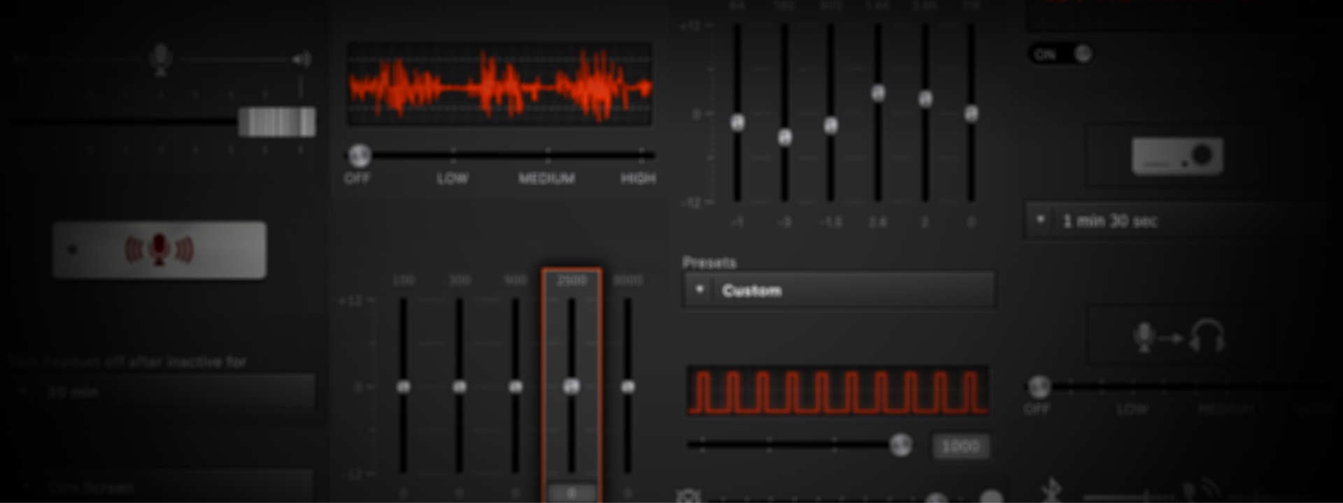 Customize your audio - Tweak your audio to perfection using SteelSeries Engine, allowing you to fully adjust EQ settings, mic level, and sidetone control.