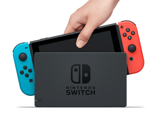 Nintendo Switch 3 Modes in 1