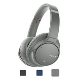 Sony WH-CH700N Wireless Noise Cancelling Headphones - Grey cover photo