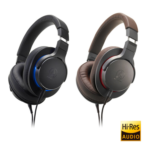 Audio-Technica™ ATH-MSR7b Over-Ear High-Resolution Headphones