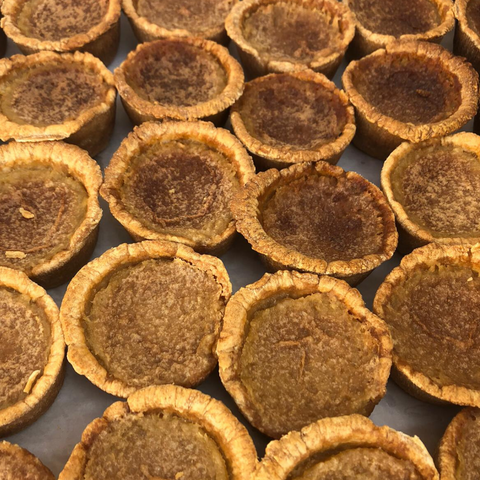Classic (No Raisin) Gourmet Butter Tarts | 6 Pack