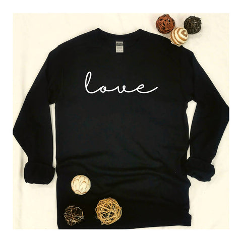 """Love"" Long Sleeve T-shirt"