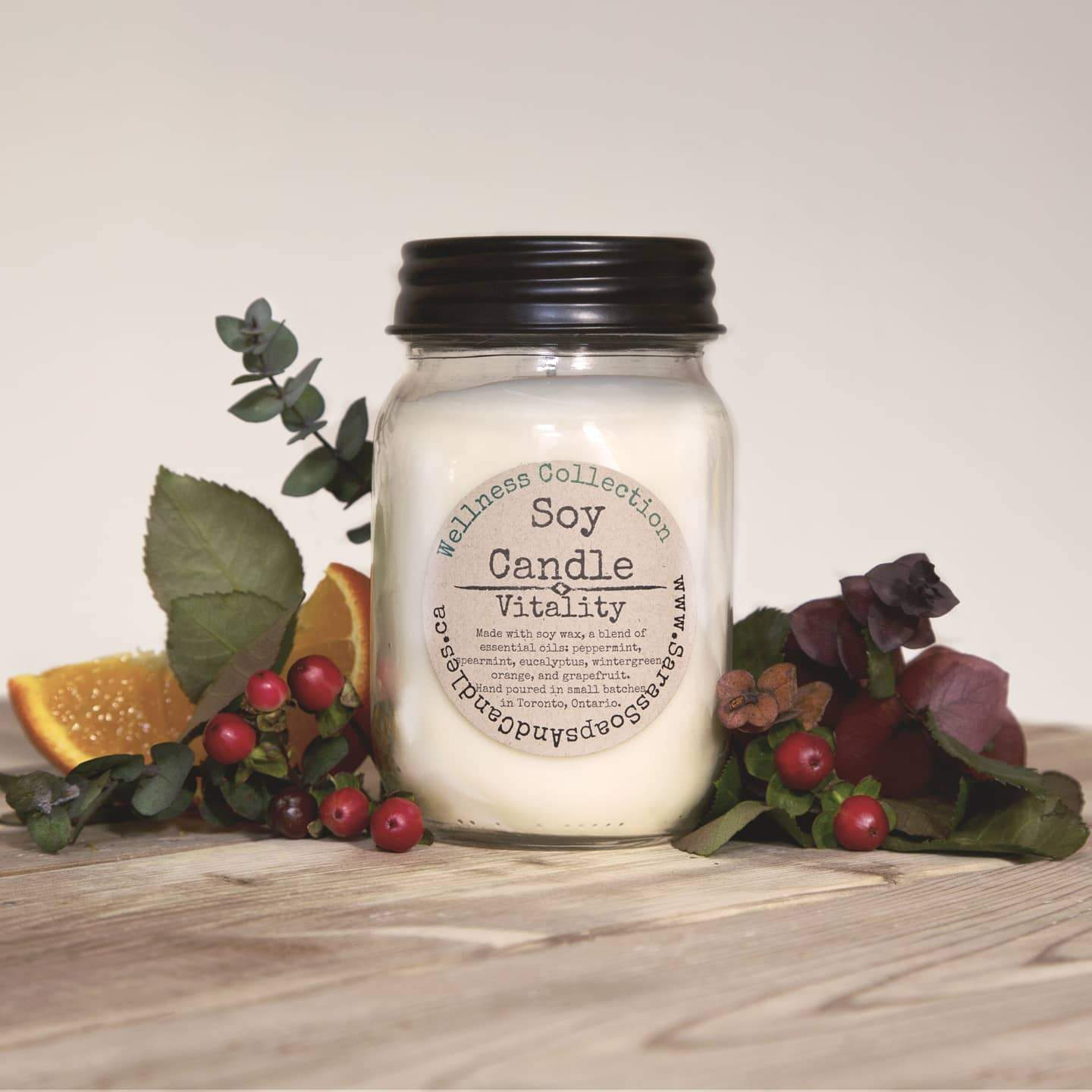 Vitality Soy Candle