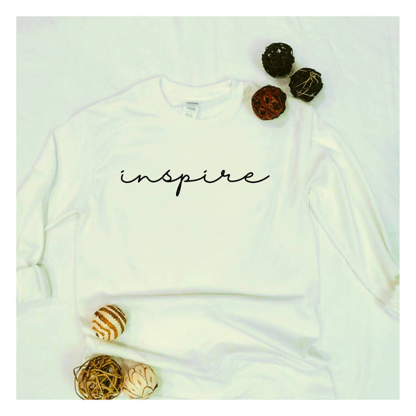 """Inspire"" Long Sleeve T-shirt"