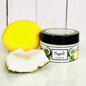 Coconut Lemon Lip Scrub | 100% Natural Flavour - Unique Town Boutique