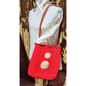 Red Dotted | Shoulder Bag