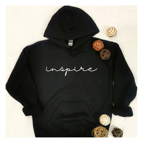 """Inspire"" Hooded Sweatshirt"