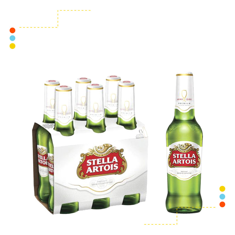 Six Pack Stella Artois 330ml