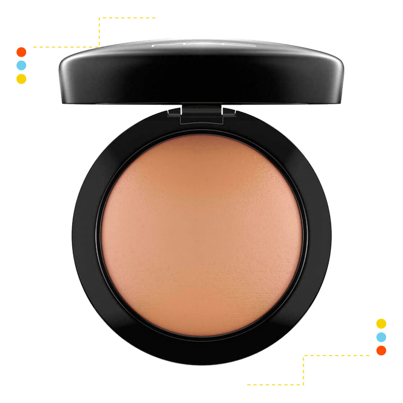 Polvo De Maquillaje Mac Mineralize Skinfinish -Dark Deep
