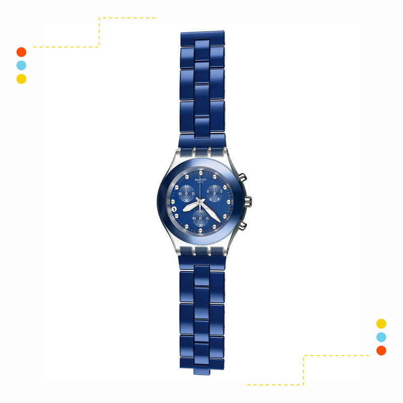 Reloj Swatch Full-Blooded Navy SWSVCK4055AG