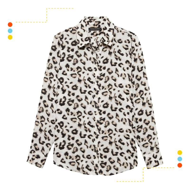 Camisa Manga Larga Dillon Leopard Snow Day
