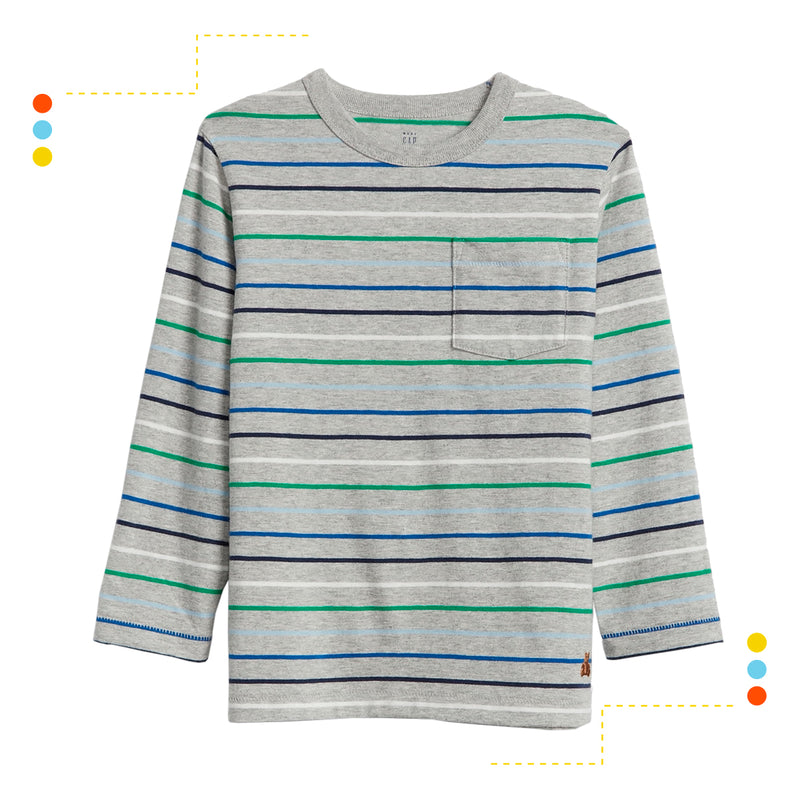 Remera Manga Larga Light Heather