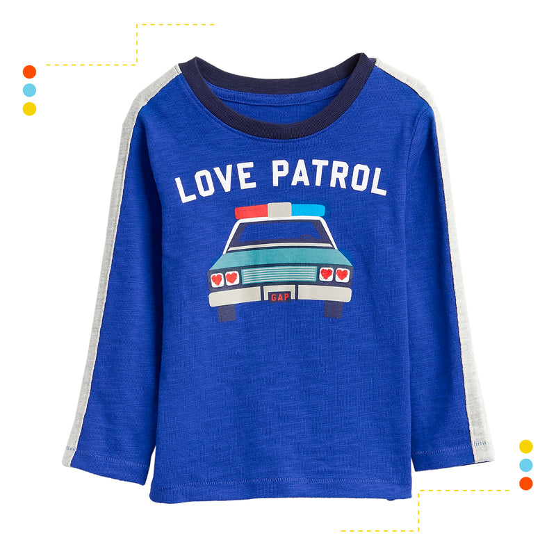 Remera Manga Larga Love Patrol
