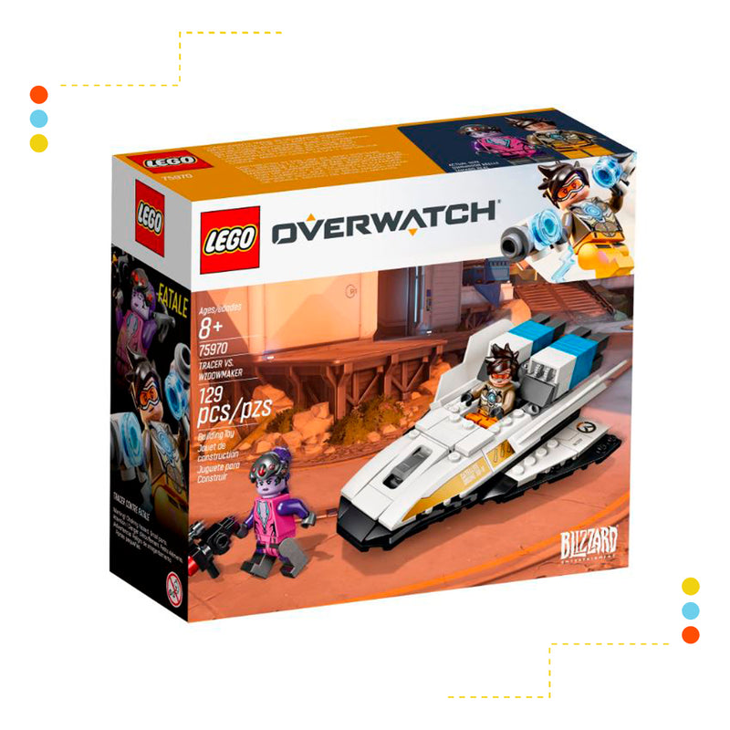 LEGO Tracer vs. Widowmaker (75970)